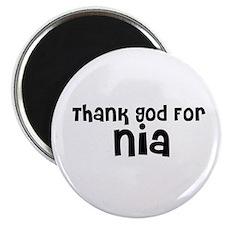 Thank God For Nia Magnet