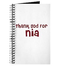 Thank God For Nia Journal