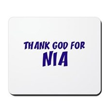 Thank God For Nia Mousepad