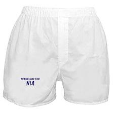 Thank God For Nia Boxer Shorts
