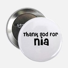 Thank God For Nia Button
