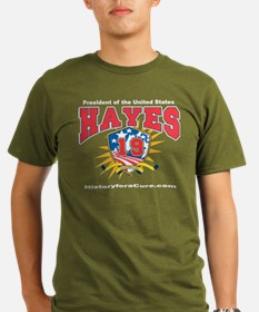 President Rutherford B Hayes T-Shirt