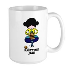 Knitting Jedi Mug