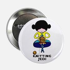 """Knitting Jedi 2.25"""" Button"""