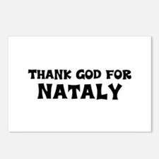 Thank God For Nataly Postcards (Package of 8)