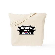 Korea Has Seoul Tote Bag