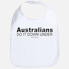 Australians do it down under -  Bib