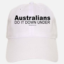 Australians do it down under - Baseball Baseball Cap