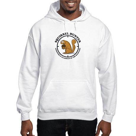 Squirrel Hunter Hooded Sweatshirt