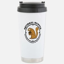 Squirrel Hunter Travel Mug