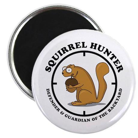 Squirrel Hunter Magnet