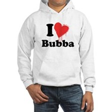 I heart bubba Jumper Hoody