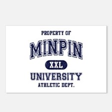 Min Pin University Postcards (Package of 8)