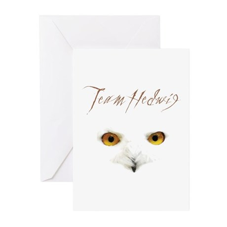 Team Hedwig Greeting Cards (Pk of 10)