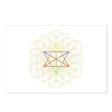 Funny Symmetric arts Postcards (Package of 8)