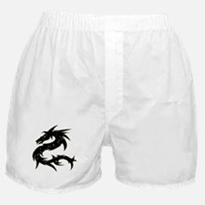 Black Star Dragon Boxer Shorts
