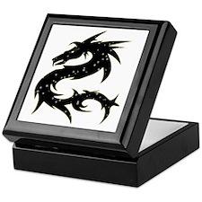Black Star Dragon Keepsake Box