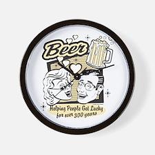Bowling - Beer Wall Clock