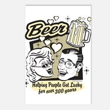 Bowling - Beer Postcards (Package of 8)