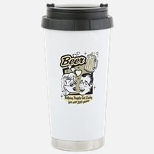 Bowling - Beer Stainless Steel Travel Mug