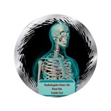 """Radiologists 3.5"""" Button"""