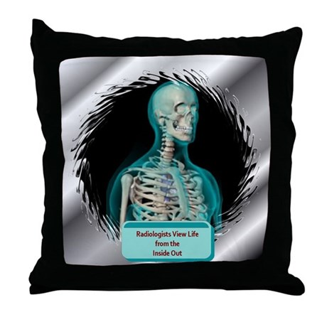 Radiologists Throw Pillow