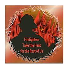 Firefighters Tile Coaster