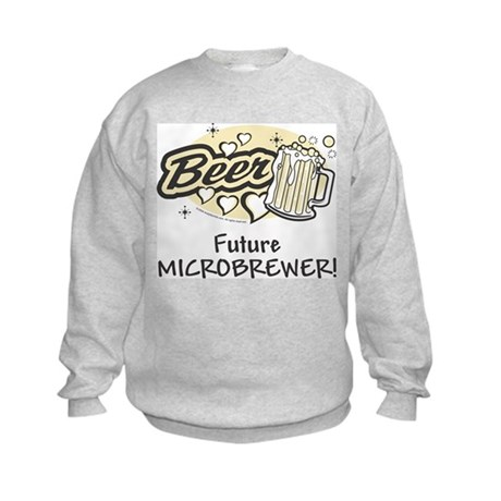 Bowling - Future Microbrewer Kids Sweatshirt