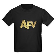 AFV Gold Kids Dark T-Shirt