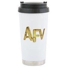 AFV Gold Travel Mug