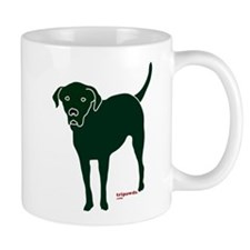 Tripawds Rear Leg Black Lab Mug