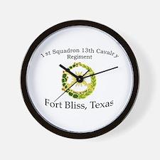 1st Squadron 13th Cavalry Wall Clock