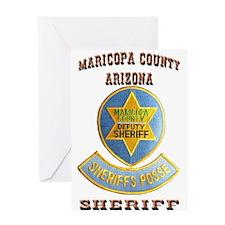 Maricopa Sheriff's Posse Greeting Card
