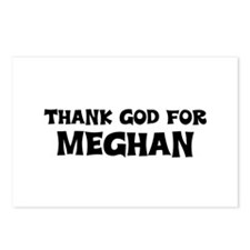 Thank God For Meghan Postcards (Package of 8)