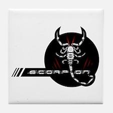 Metal Scorpion Tile Coaster