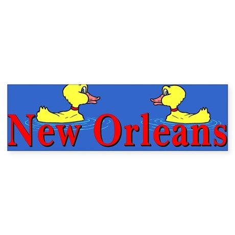 New Orleans Flood Bumper Sticker
