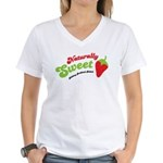 Naturally Sweet Women's V-Neck T-Shirt
