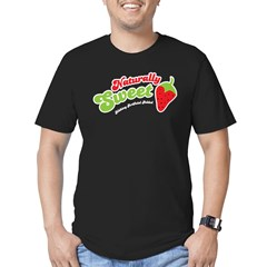 Naturally Sweet Men's Fitted T-Shirt (dark)