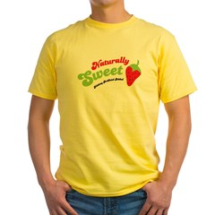 Naturally Sweet Yellow T-Shirt