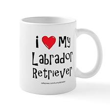I Love My Labrador Retriever Mug