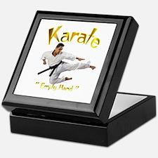 Karate Keepsake Box