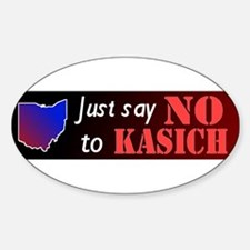 Say No to Kasich Decal