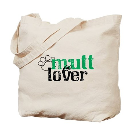 Mutt Lover Tote Bag