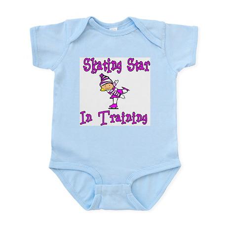 Skating Star in Training Madison Infant Creeper