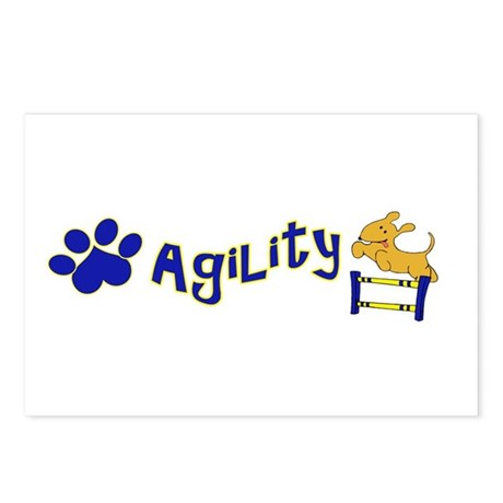 Agility Postcards (Package of 8)