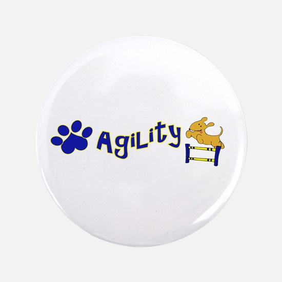 "Agility 3.5"" Button (100 pack)"