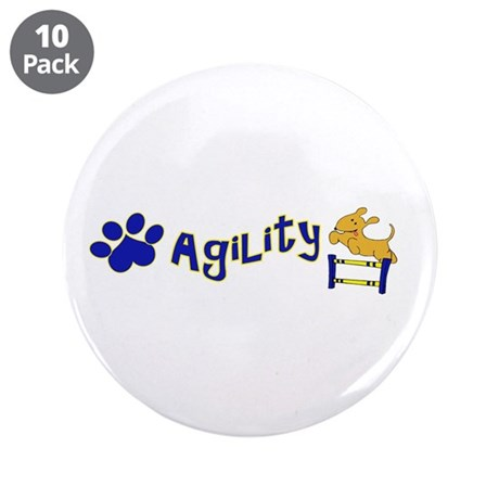 """Agility 3.5"""" Button (10 pack)"""