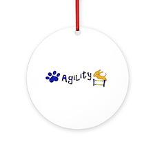 Agility Ornament (Round)