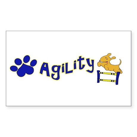 Agility Sticker (Rectangle)