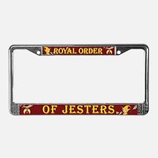 ROJ License Plate Frame